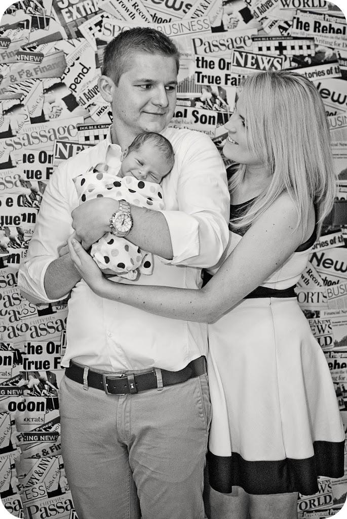rodzinne ujęcia sesja niemowlaka