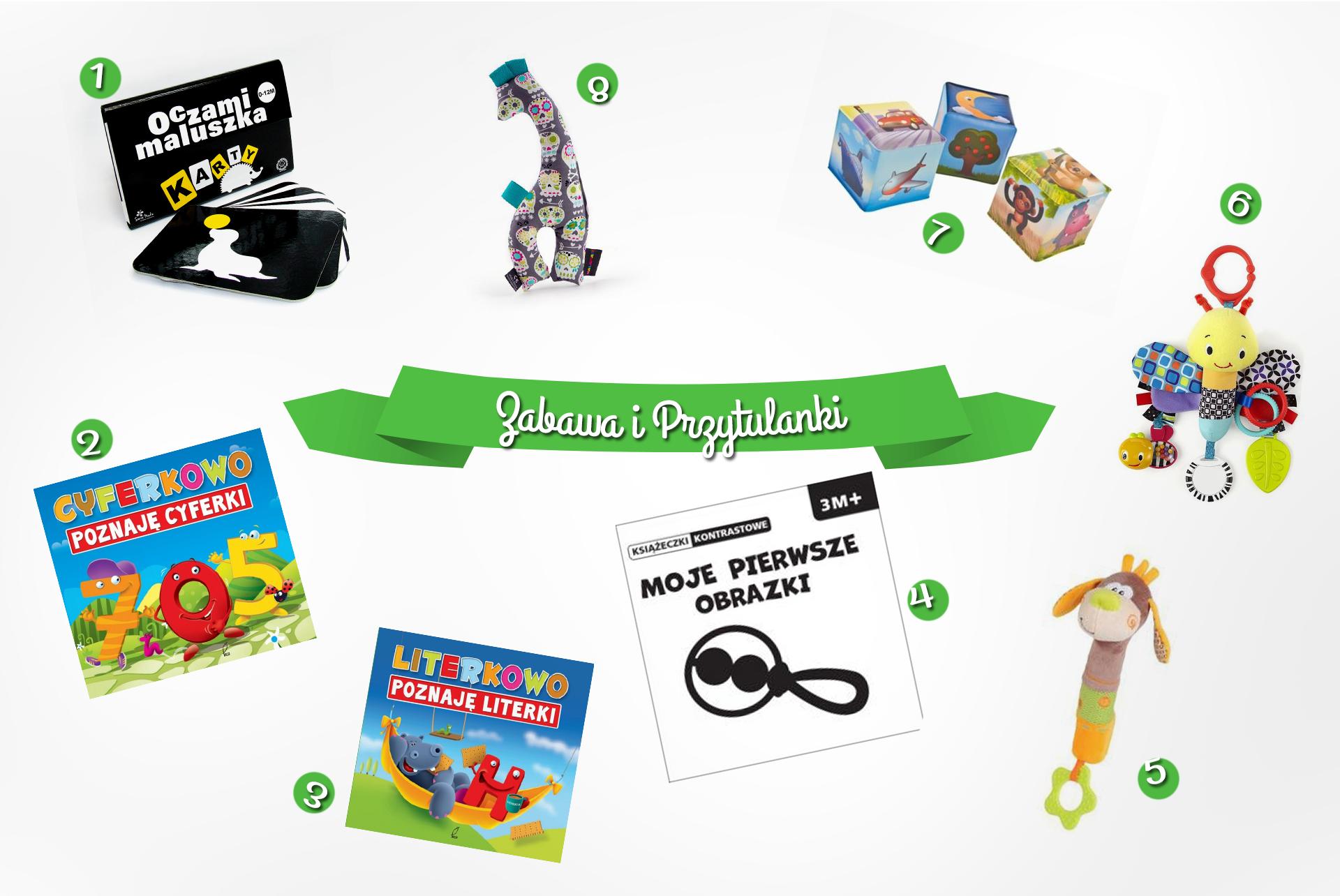 jakie książki zabawki dla noworodka