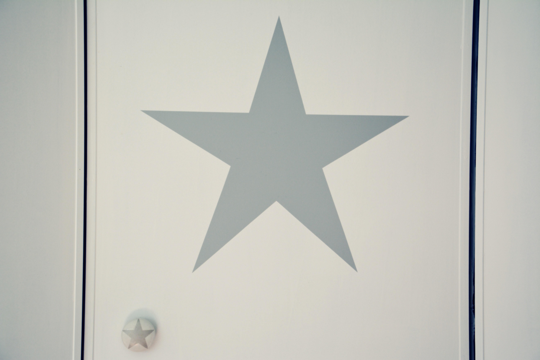 naklejka gwiazda