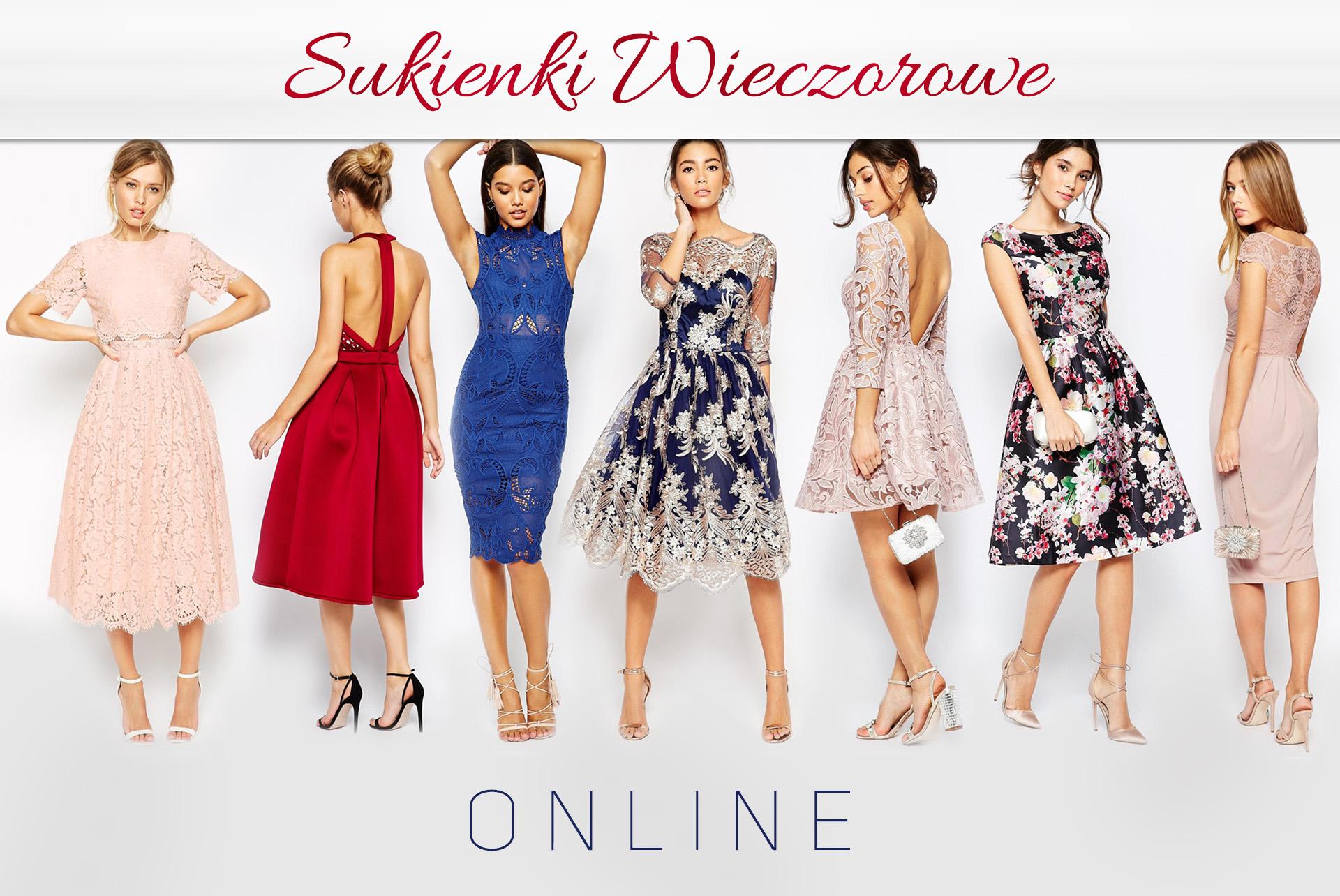 sukienki wieczorowe sklep internetowy