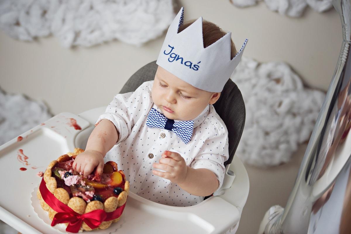 dziecko zdjęcia tort