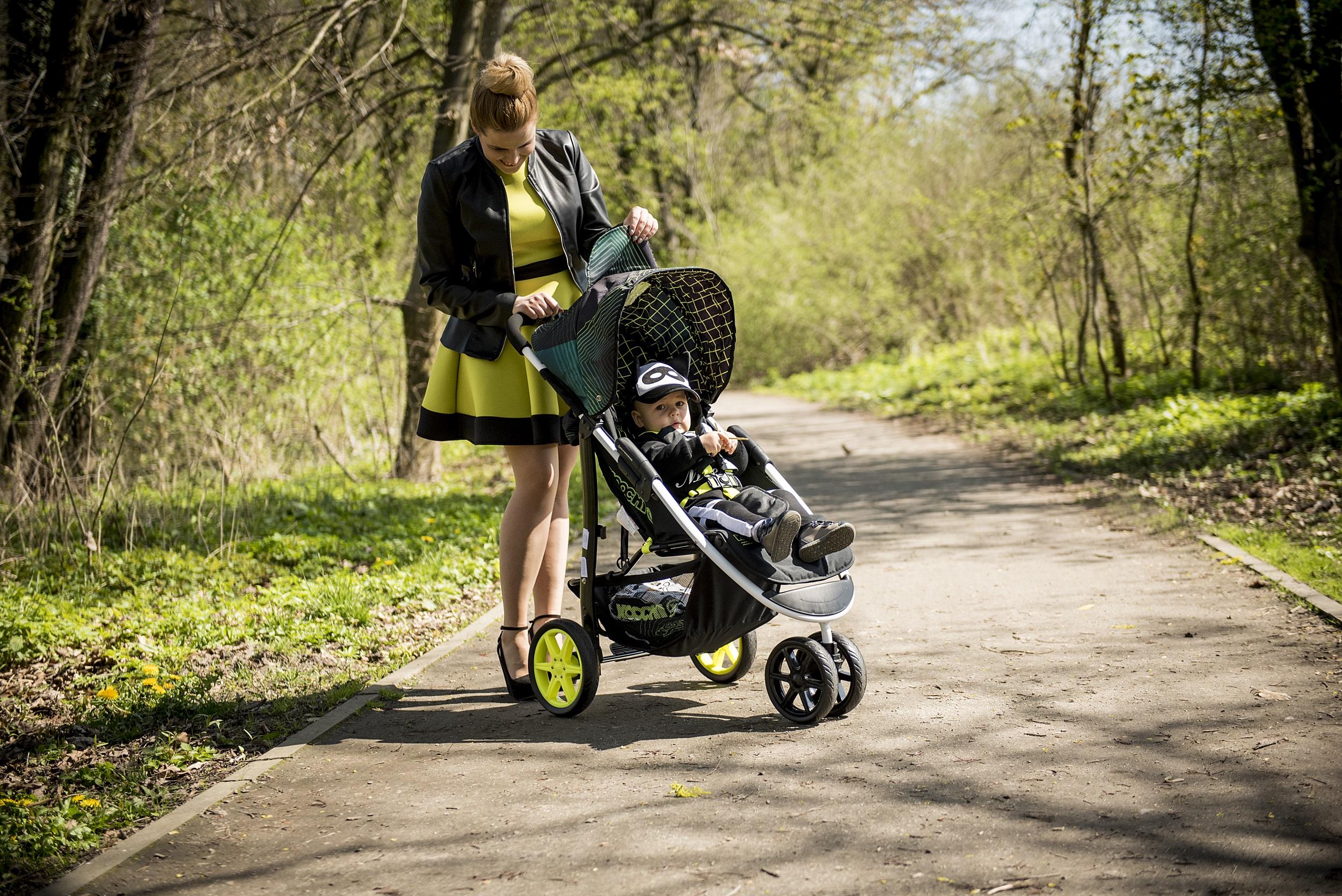 wygodna spacerówka dla dziecka