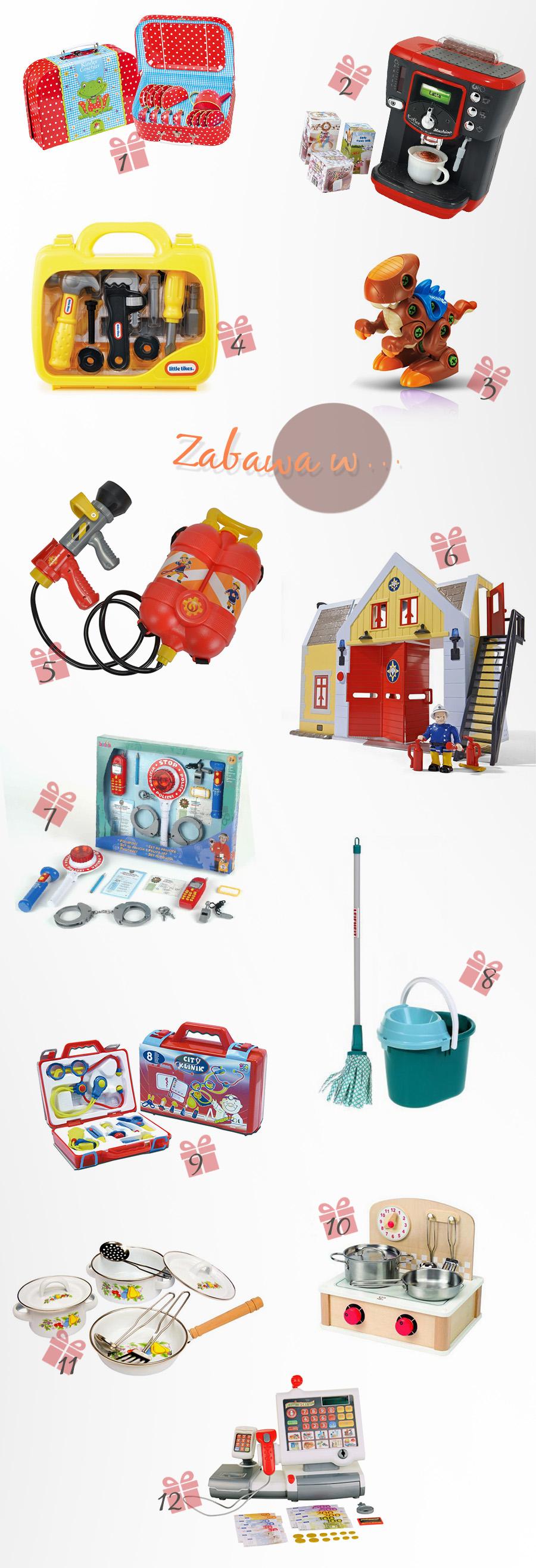zabawki dla dziecka które skończyło 3 lata
