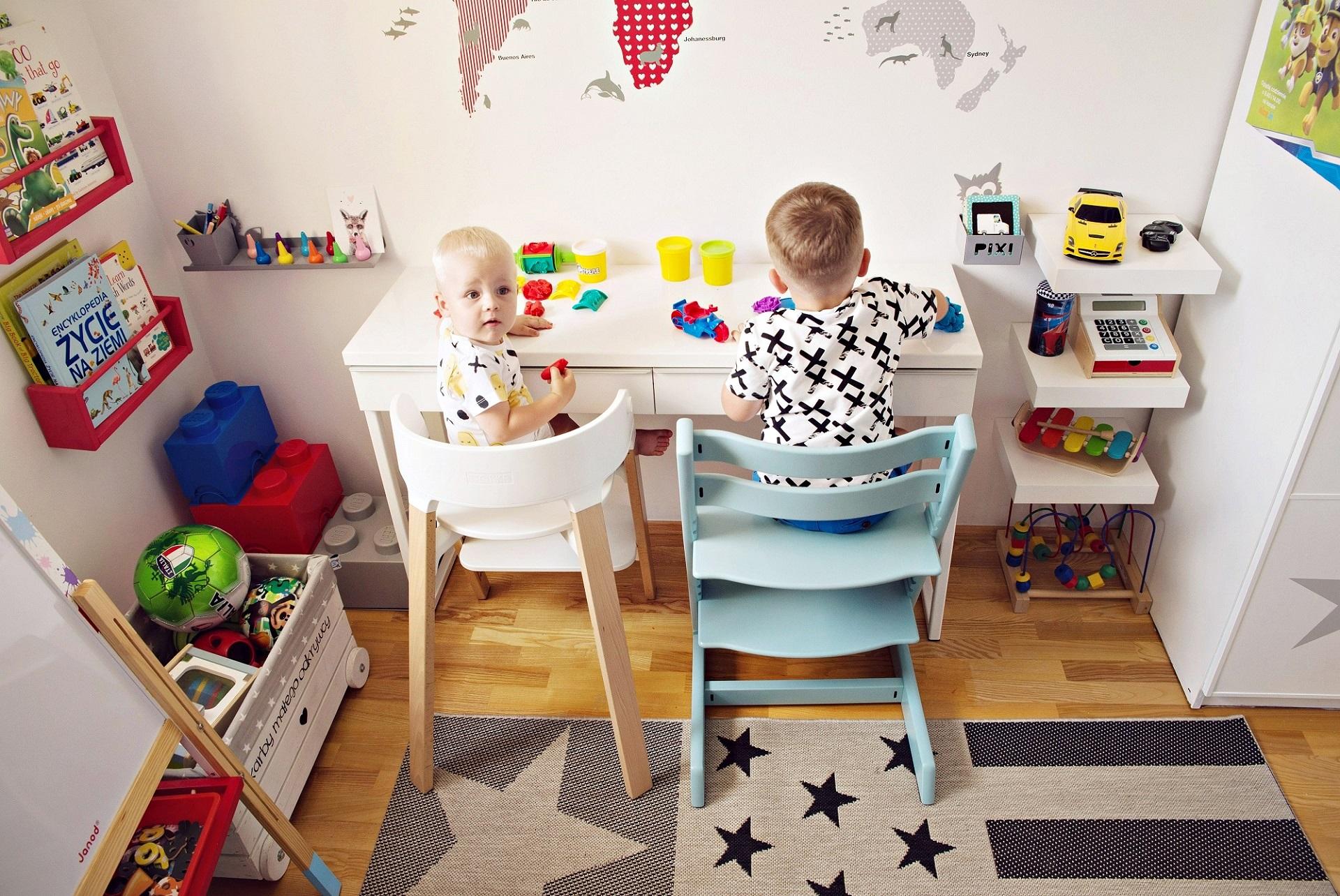 krzesło rośnie wraz z dzieckiem