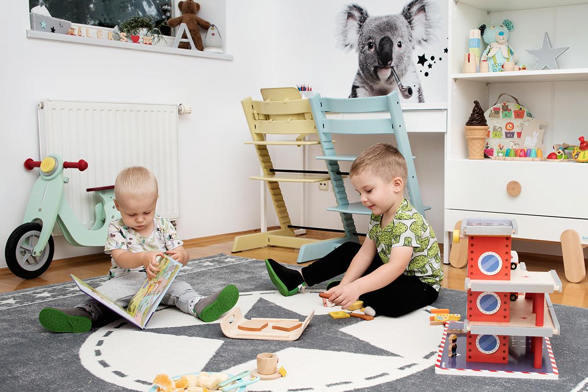 pokój dla dwojga dzieci