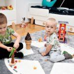 Dwóch małych chłopców w jednym pokoju – dobry pomysł?