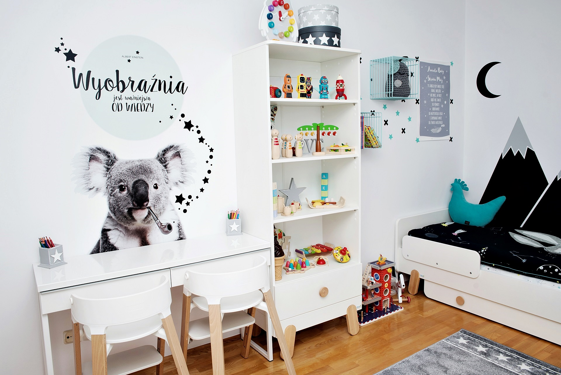 białe meble dla dzieci