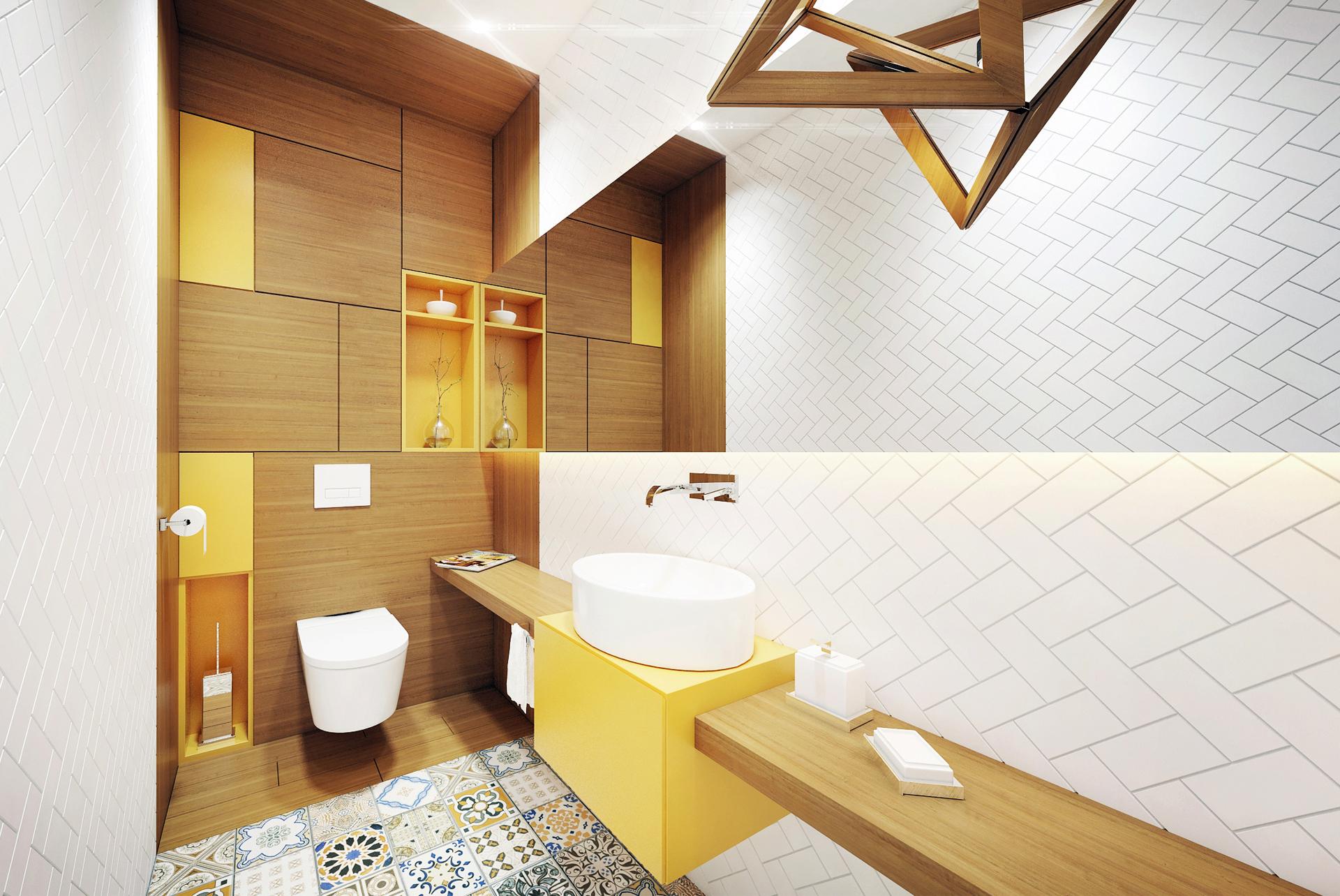 mała łazienka projekt