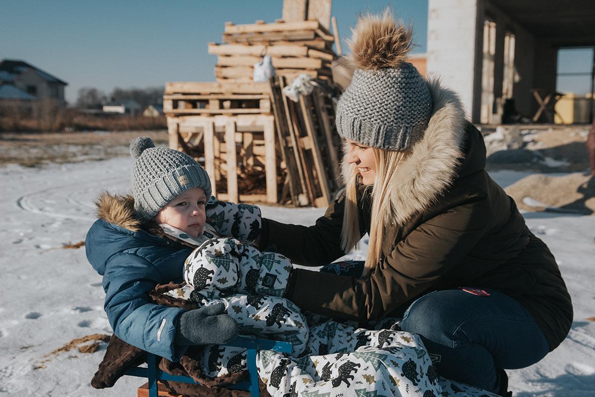 akcesoria na zimę do sanek