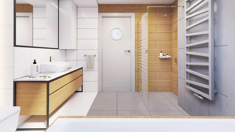 jak urządzić łazienkę na poddaszu