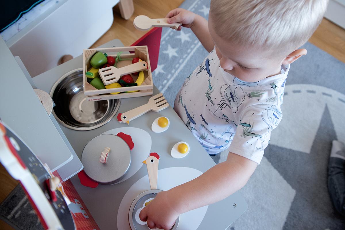 kuchnia dla chłopca