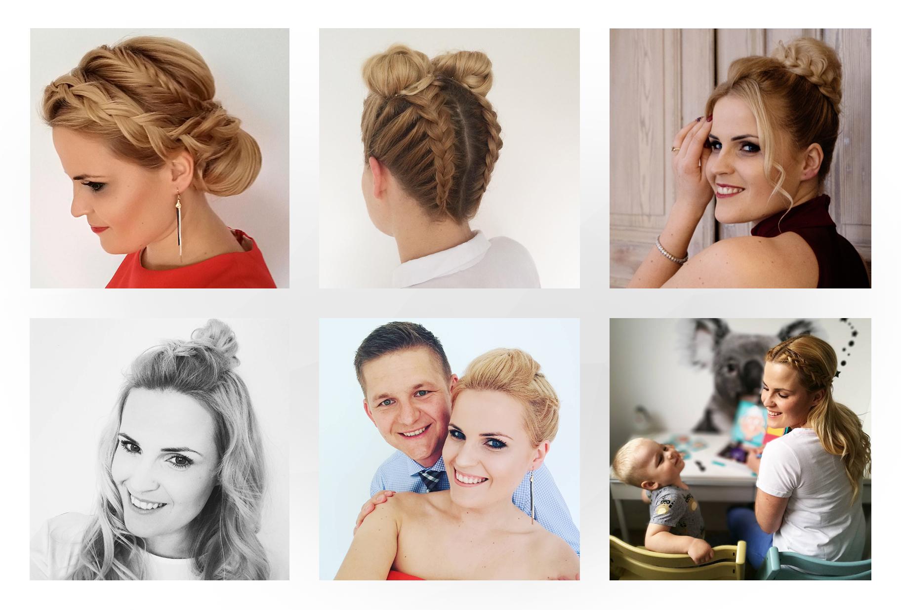 fryzury warkocz na wesele