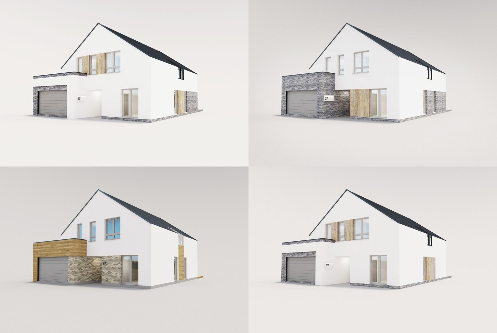 Projekt Elewacji Domu Nowoczesny Wkręconapl Blog Lifestylowy
