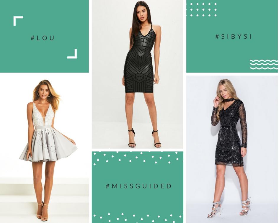 elegancka czarna sukienka