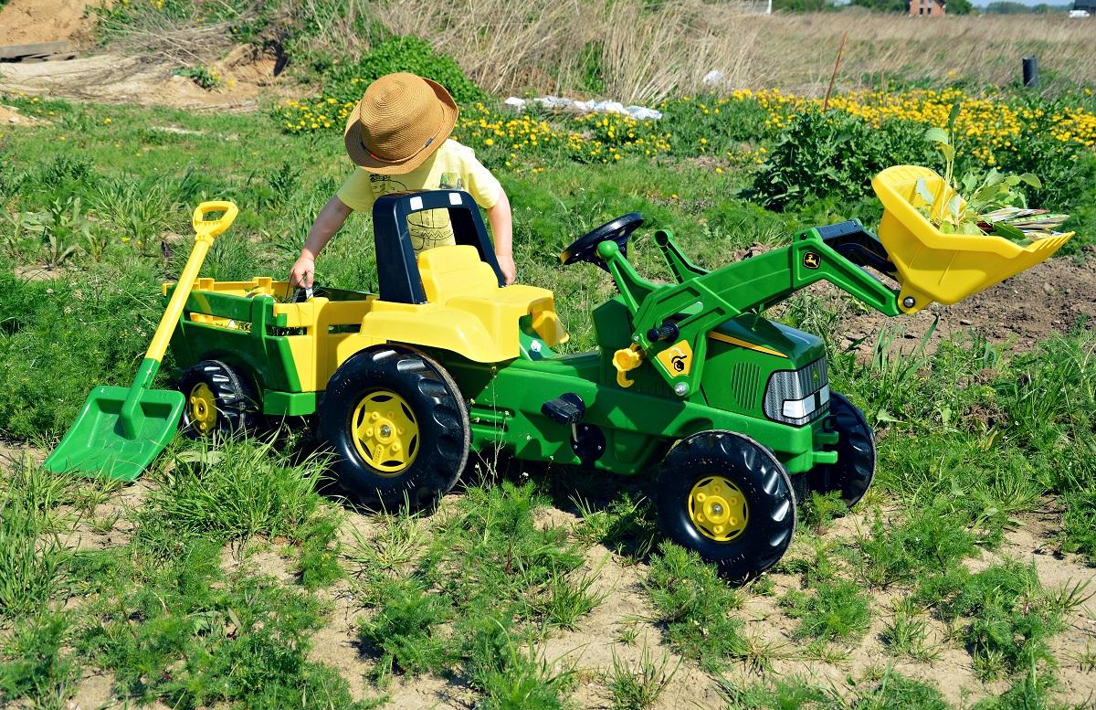 traktor John Deeree