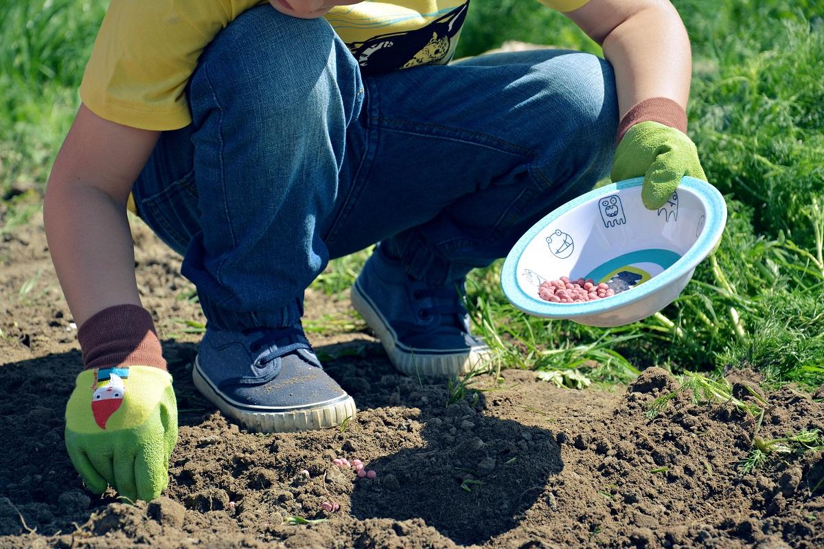 rękawiczki dla dzieci do ogródka