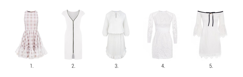 najpiękniejsze białe sukienki