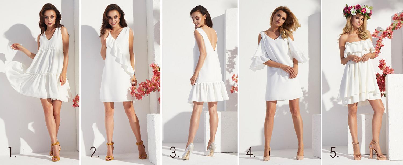 piękne białe sukienki