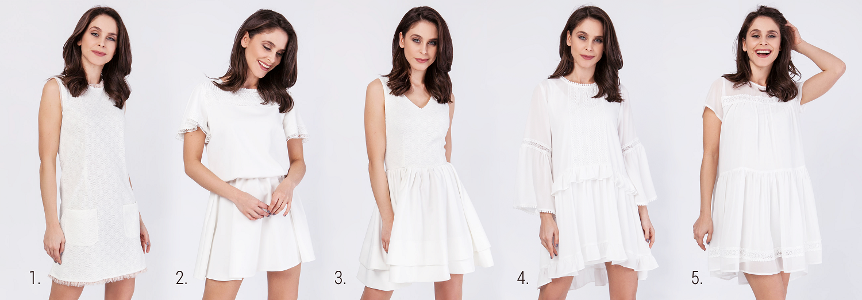 propozycje białych sukienek