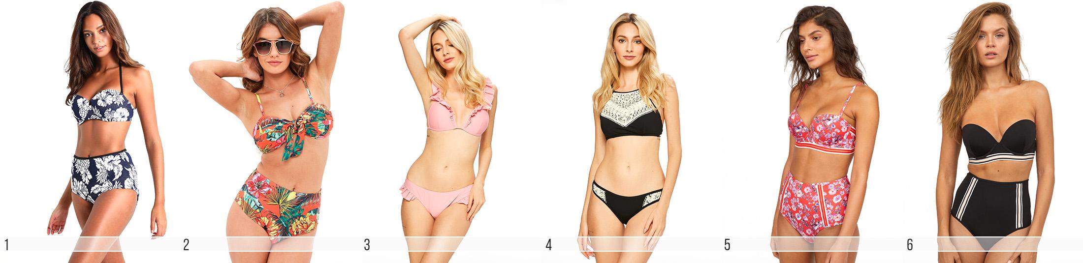 modne bikini na lato