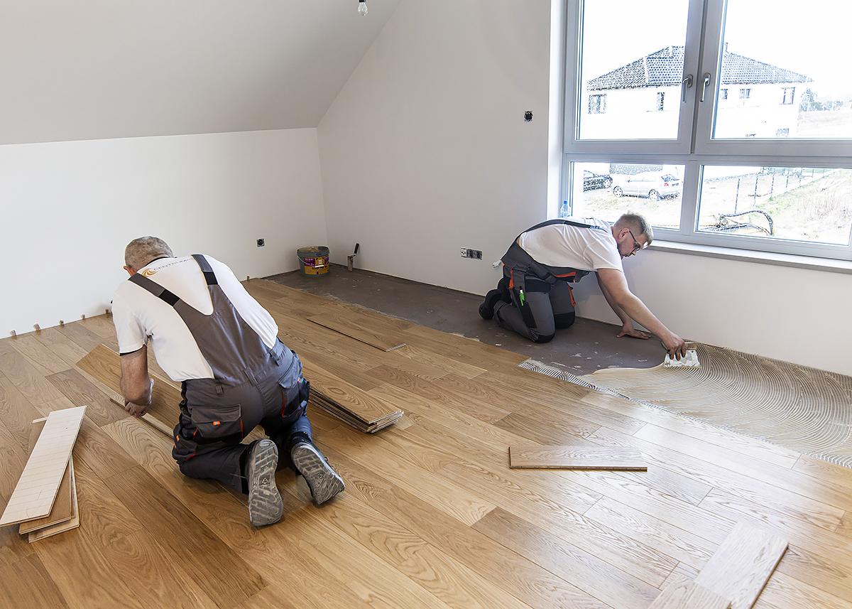 montaż drewniane podłogi wrocław